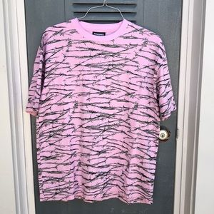 Pleasures• Pink Barbed Wire Tee